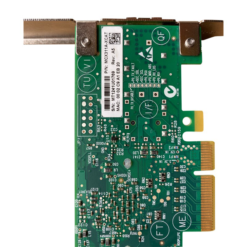 10G Single-Port 10 Gigabit Mellanox MCX311A ConnectX-3 SFP  Fiber Optic Network Card 3 Meters 10G Cable