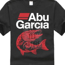 New Abu Garcia Fisher Men T Shirt Black Size S Xxl(China)