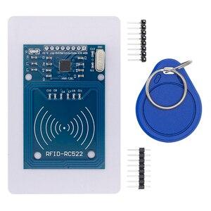 Image 2 - 50 pces tenstar robô rfid módulo rc522 kits s50 13.56 mhz 6cm com tags spi escrever & ler