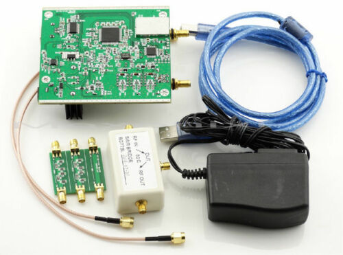 Made By BG7TBL NWT500 0.1MHz-550MHz USB Sweep Analyzer+ Attenuator+ SWR Bridge + SMA Cable + Power Adapter + USB Cable WinNWT4