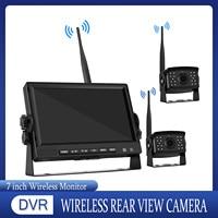 Digital 7 Zoll Monitor Wireless AHD Auto Back Up Reverse Parkplatz Kamera System Kit für Lkw Bus