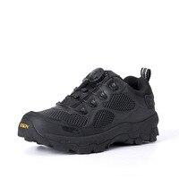 Marca Militar Tático Botas de Combate Ao Ar Livre Rápida Reação BOA Respirável Homens Sapatos Exército Botas de Segurança Botas de Tornozelo Sapatos de Escalada
