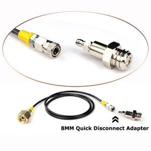 Image 3 - Mới Soda Dòng SodaStream/Soda Câu Lạc Bộ Bên Ngoài Co2 Xe Tăng Adapter Và Vòi Bộ W21.8 14 Hay CGA320 W/nhanh Chóng Ngắt Kết Nối