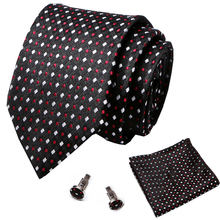 Новый официальный мужской серебристый цветочный галстук шелковый