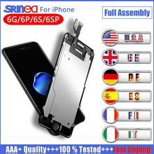 AAA+++ Screen For iPhone 6 6S Plus LCD Dispaly 100% Tested With 3D Force Touch Screen Digitizer Assembly Display No Dead PixelAA 10pcs free dhl tracking no 100% tested fir brand new 5 5 for iphone 6 plus lcd screen display digitizer assembly white black