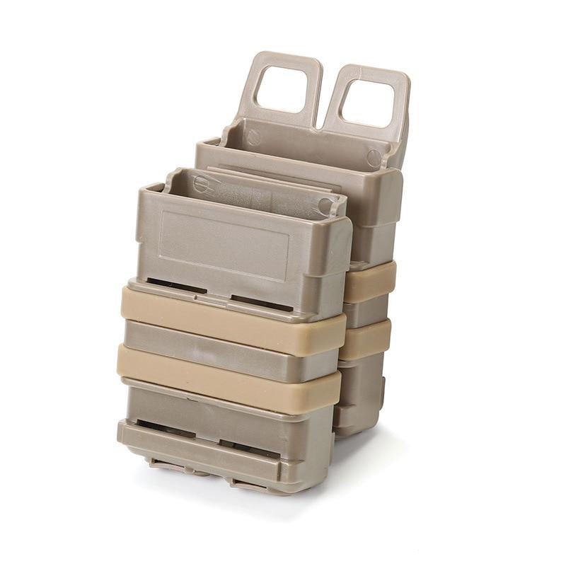 Fast Mag M4 Monocoque Plastic Pull Case Tactical Vest Accessories Plastic Box 5.56 M4 Cartridge Box