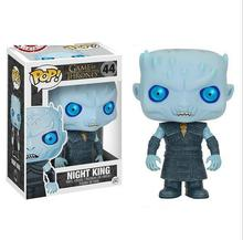 Exclusive Glow in the Dark Funko pop Official Game of Thrones - Night King Vinyl Action Figure Collectible Model Toy In Stock