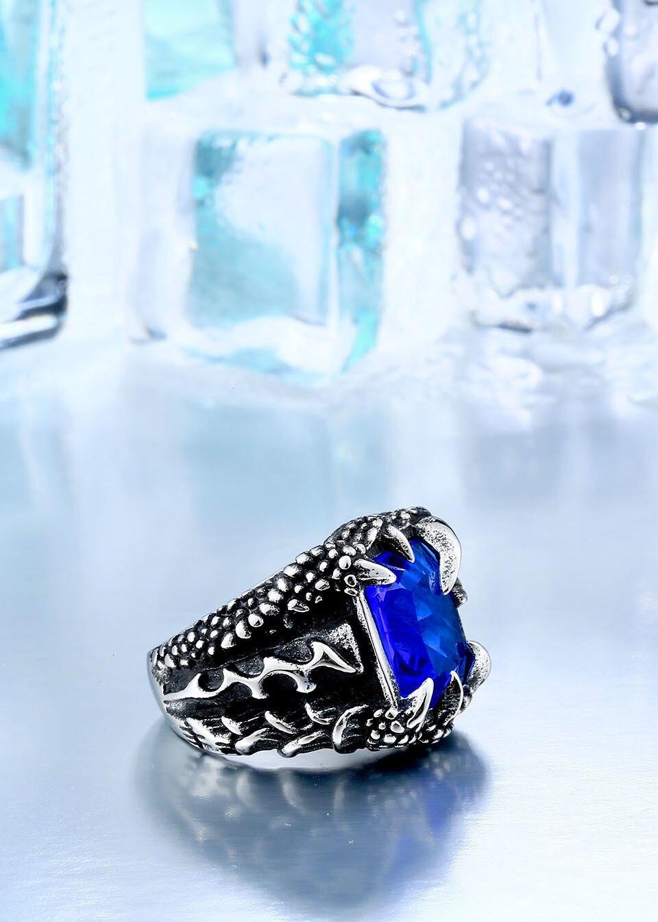 H315da4d7d1344b42beab2f7e7ff7b19ew - Paladin Dragon Claw Ring