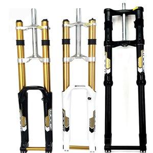 Вилка для велосипеда Moutain, 20 мм, дисковый тормоз для горных велосипедов, 180 мм, вилка для подвески для путешествий