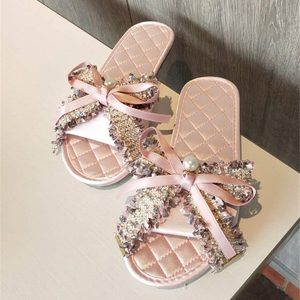 Women Slippers Flat Indoor Sho