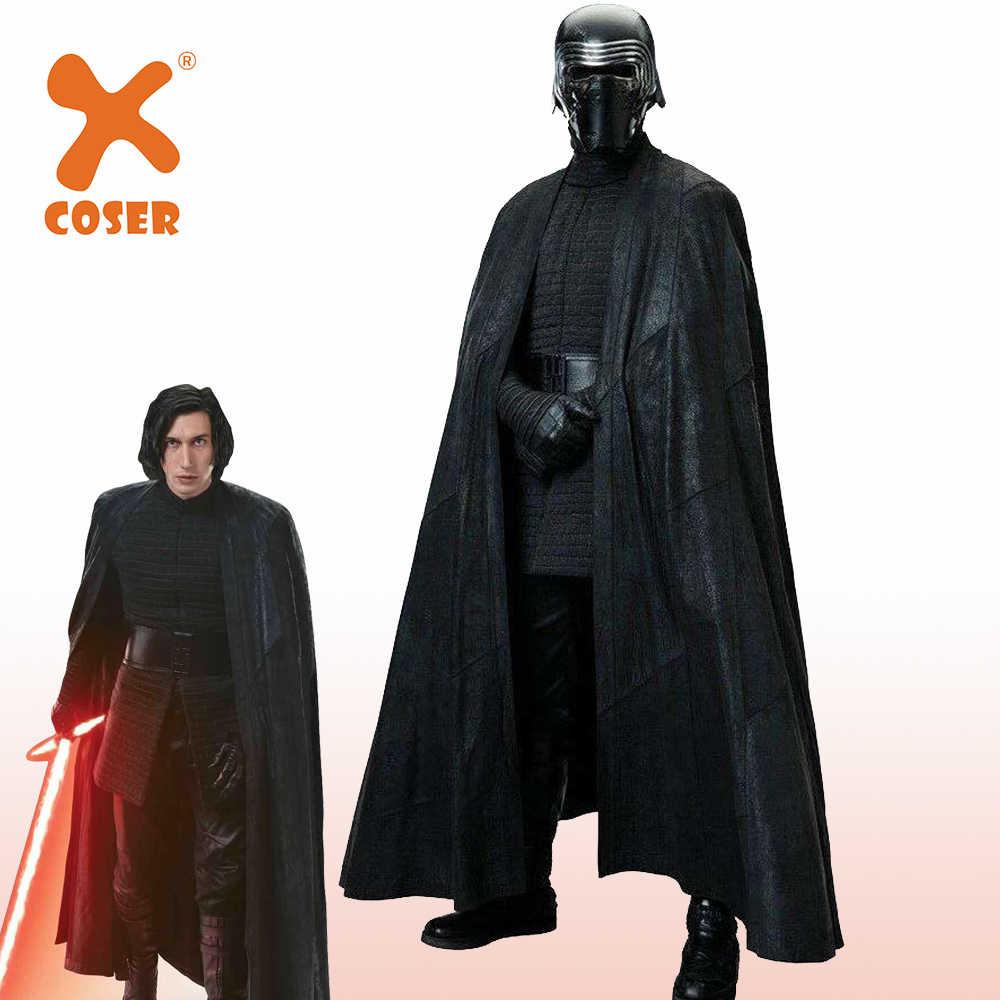 Details about  /Star Wars The Last Jedi Cosplay Kylo Ren Costume Full Set Uniform Halloween