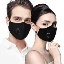 1 قطعة للجنسين موضة التنفس الفم قناع تنفس أقنعة الكربون تصفية أسود أزرق وردي رمادي