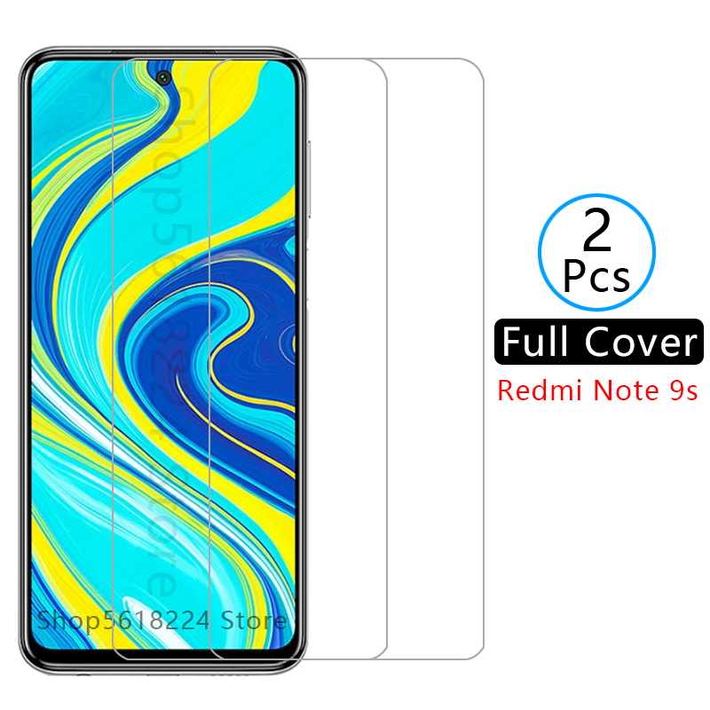 Case On Ksiomi Redmi Note 9s Cover Tempered Glass For Xiaomi Readmi Note9s Not 9 S S9 Phone Coque Screen Protector Xiomi Xiami