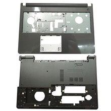 NEW Laptop Palmrest Upper Case/Bottom case For Dell Inspiron 15U 5000 5555 5558 5559 V3558 V3559 0T7K57 T7K57