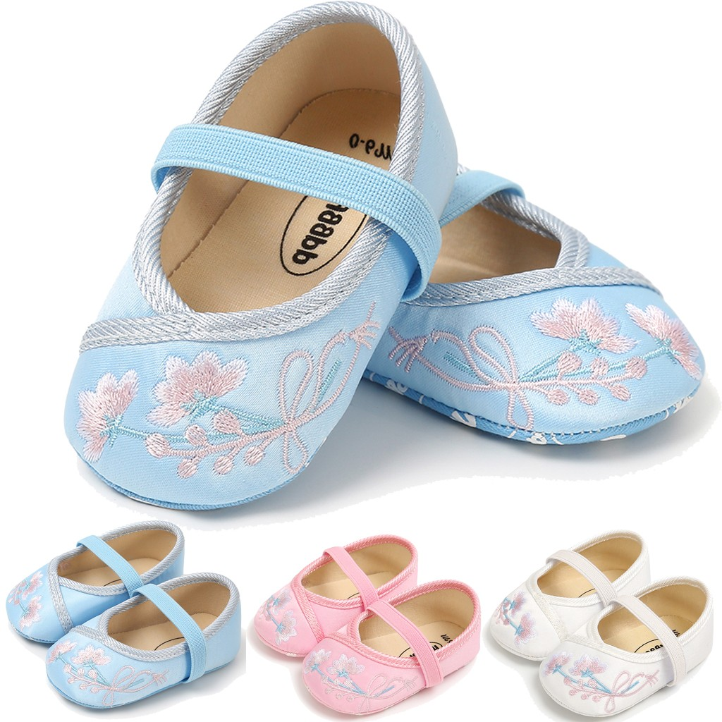 Toddler Kid Baby First Walker Shoes For Girls Cute Pricess Shoes Strap Non-slip Shoe Baby First Walk Winter Warm Casual Shoes