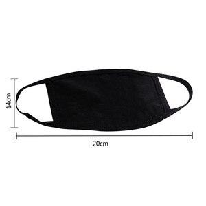 4 шт., пылезащитная хлопковая маска для лица с милым принтом