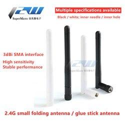 Free shipping! 1pcs 2.4GHz 3dBi Omni WIFI antenna with RP SMA male/female plug for wireless router wholesale price antenna wi-fi
