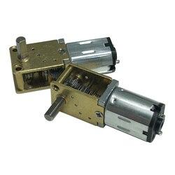 Микро мотор-редуктор постоянного тока 3 в 6 в 12 В, 15/30/60/63/120 об/мин, низкоскоростной мотор-редуктор, мини-электродвигатель