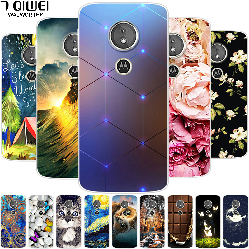 5.7'' For Moto G6 Play Case Cover Silicone Soft Cartoon TPU Phone Case For Motorola Moto G6 Play G6play Case G 6 Play Capa Coque
