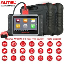 2021 Autel MaxiPRO MP808K OBD2 Auto Diagnostics Scan Tool EPB ABS Automotive Scanner Reset Service Better DS808 MP808