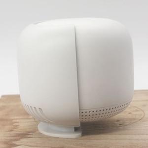Image 3 - Support de routeur pour Google Nest Wifi support de montage mural avec enrouleur de câble sécurité et utilisation facile dans la maison partout 2 pièces