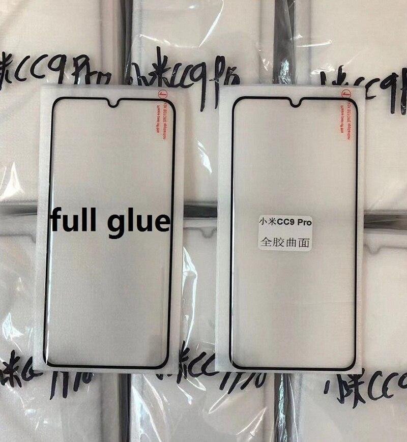 Изогнутое закаленное стекло 9D с полным покрытием клея для Xiaomi mi CC9pro Note10pro, Защита экрана для Mi Note10lite 10pro, защитная пленка, стекло