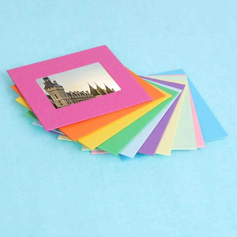 กระดาษคราฟท์แขวนกรอบสำหรับภาพกรอบรูปงานแต่งงานกำแพงตกแต่ง Graduation PARTY Photo บูธ Props DIY ผนังตกแต่ง