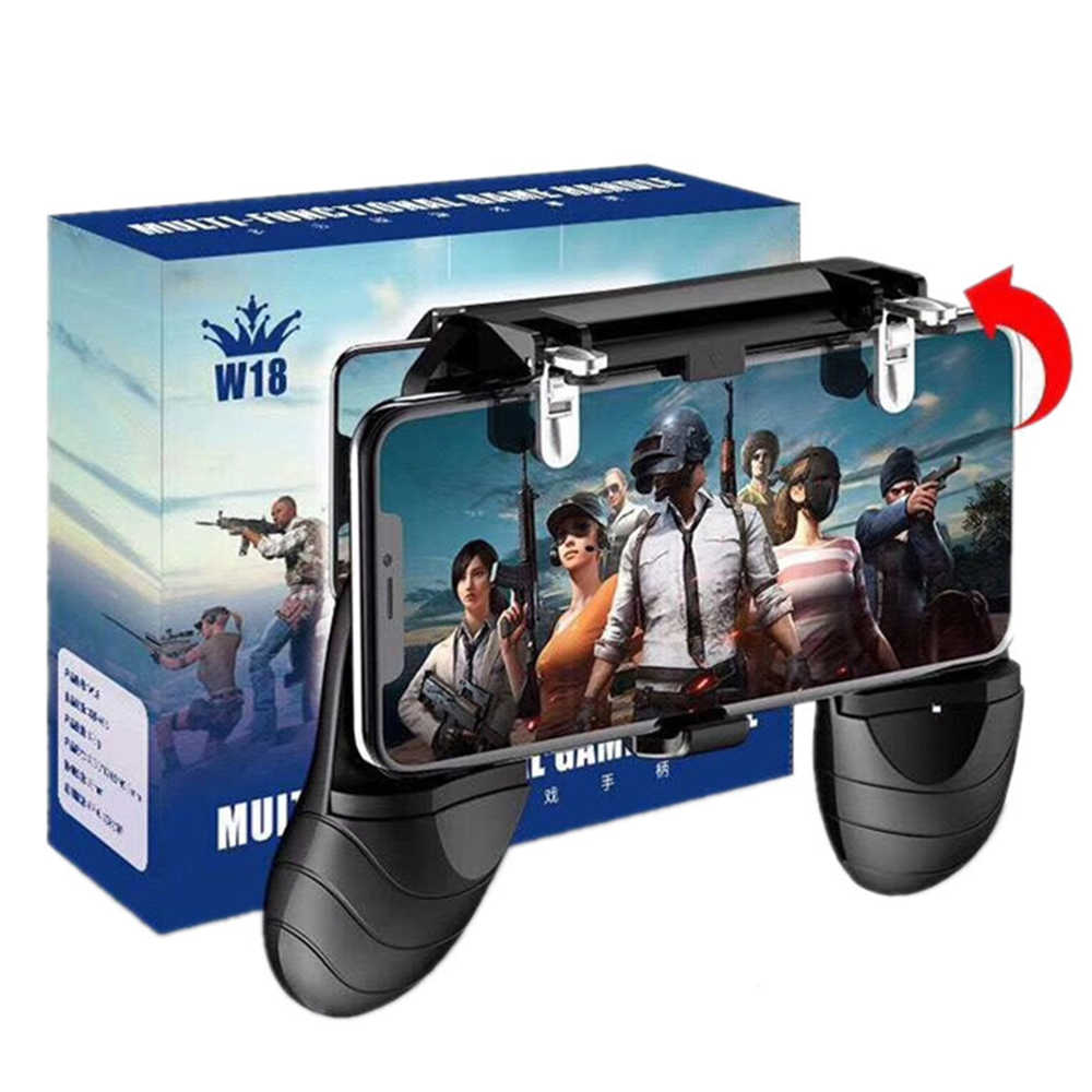 PUBG Mobile Metal L1 R1 free fire Trigger for iPhone xiaomi huawei Android Phone Game Shooter Controller Gaming Gamepad Joystick