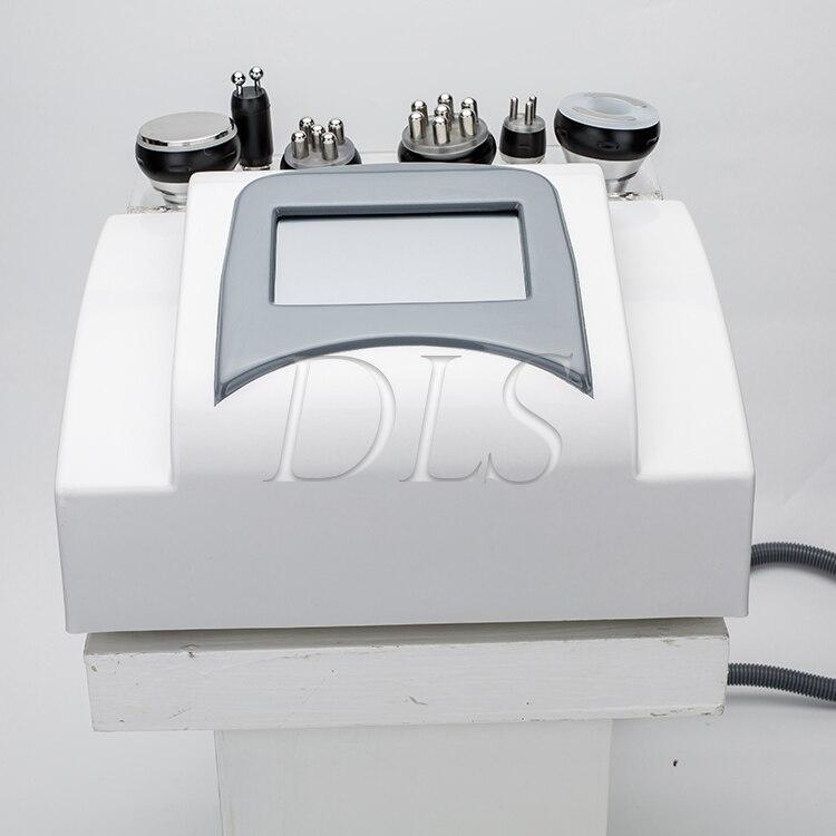 プロ多機能極性 6 で 1 脂肪 40 18k キャビテーション rf 真空美容機器痩身美容機