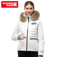 RUNNING RIVER Brand women High Quality Ski Jacket Winter Warm Hooded Sports Jackets Professional Outdoor ski suit #A9001 B7081