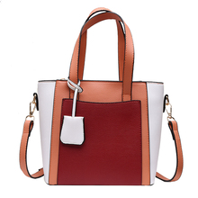 new bags for women 2019 Simple Fashion Casual Shoulder Bag Handle Lady Big Capacity Purse Leather Female Tote