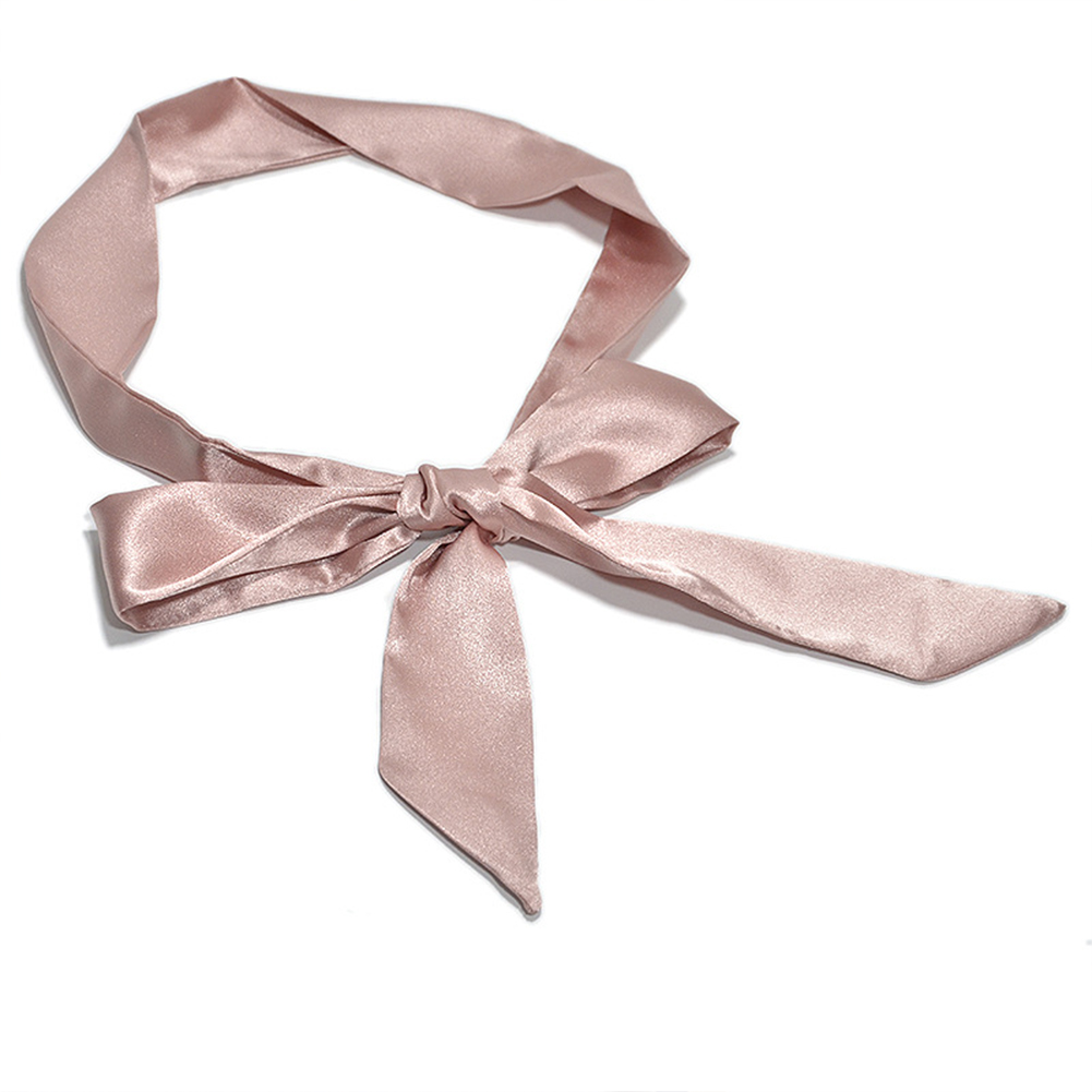 Ribbon Wide Ladies Self Tie Dress Decor Bowknot Waistband Wrap Around Silk Fashion Corset Soft Women Waist Belt Casual