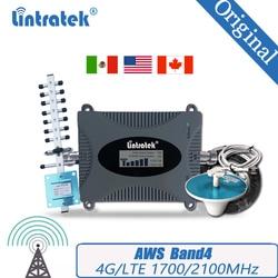 4G LTE 1700/2100 Handy Booster Cellular Repeater 4G AWS 1700/2100mhz Signal Verstärker Band4 Booster für Südamerika #30