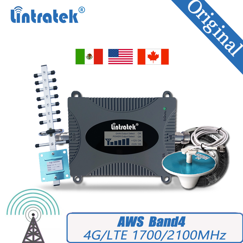 4G LTE 1700/2100 Mobile Phone Booster Cellular Repeater 4G AWS 1700/2100mhz Signal Amplifier Band4 Booster For South America #30