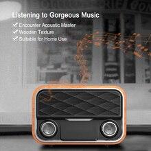 Creative Solid Wood Bluetooth Speaker Wireless Wireless Convenience Mini  Waterproof  Radio