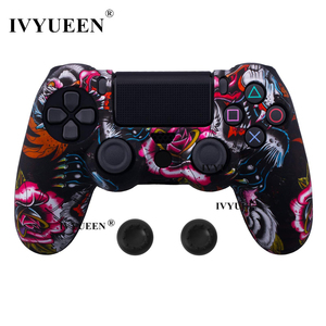 Image 5 - IVYUEEN For Sony PlayStation 4 PS4 Pro Slim Controller Silicone Case Protective Skin with Analog Stick Grip for PS4 DS4 Gamepad