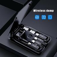 ブディ多機能ユニバーサルスマートアダプタカード収納ボックス15ワットワイヤレス充電iphone xiaomi旅行ポータブル収納バッグ