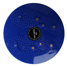 Твист талии кручения диск доска аэробные упражнения фитнес рефлексотерапевтические магниты-синий
