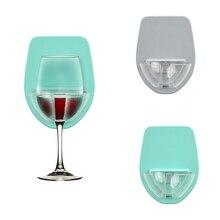 Ватт пластиковый держатель для винного стекла для ванны, душа, красное вино, стекло, шелковистый крепкий винный стакан, стеллаж для хранения, кухонная вешалка