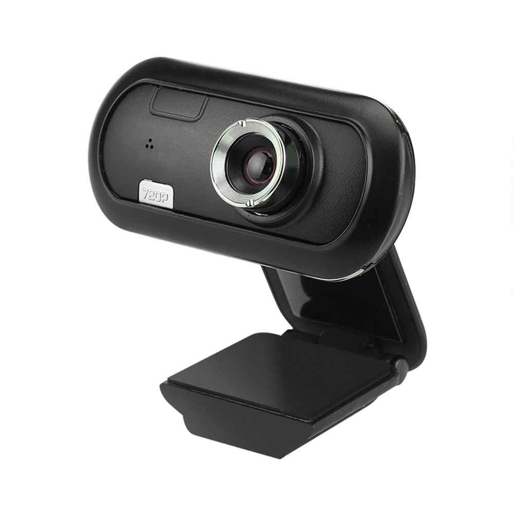 Webcam Hdweb Kamera dengan Built-In Mikrofon HD USB 2.0 HD Webcam Kamera Web Cam Layar Lebar Video untuk PC laptop
