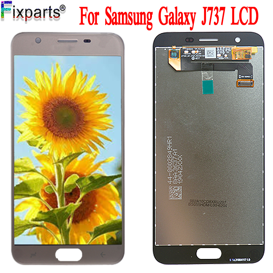 New LCD For <font><b>Samsung</b></font> <font><b>Galaxy</b></font> <font><b>J7</b></font> <font><b>2018</b></font> J737 LCD <font><b>Display</b></font> Touch Screen Digitizer Assembly Repair Parts J737A J737P J737V J737T <font><b>Display</b></font> image