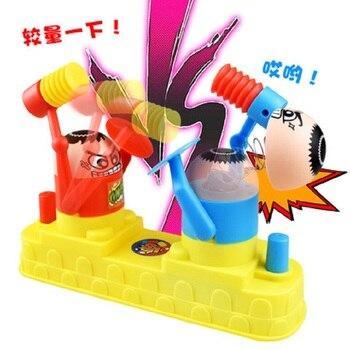 Juegos interactivos dos colores Beat the villain juguete divertido para padres e hijos juegos de mesa interactivos juguete para niños regalo de cumpleaños