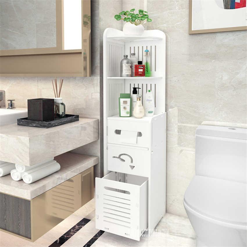 Floor Type Toilet Vanity Side Cabinet Wood Glue Board Waterproof Bathroom Storage Cabinet Multifunctional Tissue Storage Rack Pump Replacement Parts Aliexpress