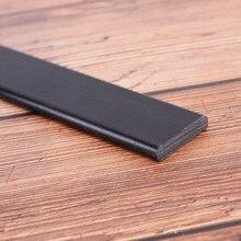 1pc Misturado Fibra De Vidro Membros Arco de Alta Resistência Preto para DIY Arco Arco E Flecha de Caça Tiro 30mm x 6mm x 60cm