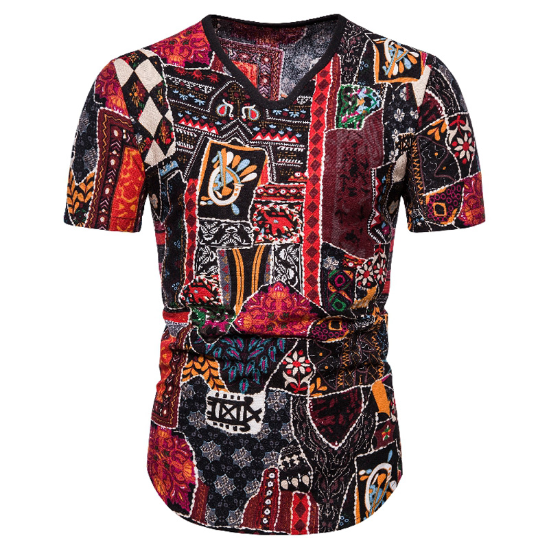 African Clothes Forest Style T-shirt Fashion Africa Clothing 3d Tee Shirt Homme Dashiki African Dresses For Women/men