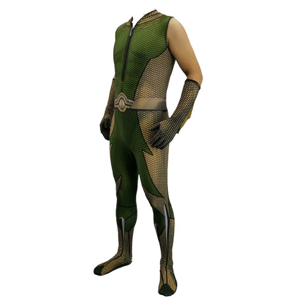 2020  Homelander The Deep Boys Cosplay Costume Halloween Costumes The Seven Homelander A-Train Super Hero Costumes Jumpsuits 5