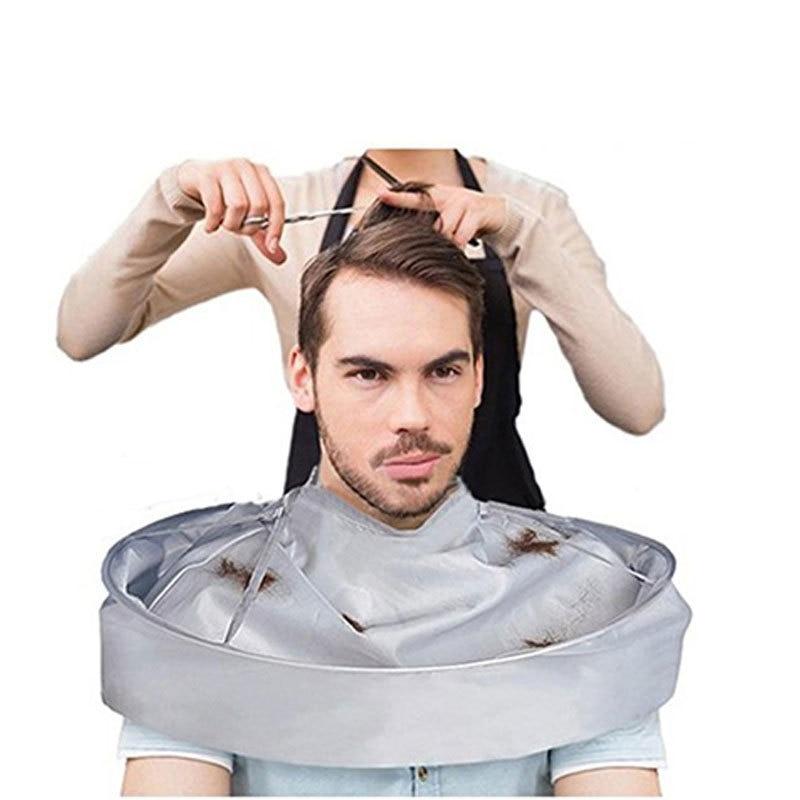 Creative apron DIY hair cutting cape umbrella cape salon hairdresser and home stylist special hair accessories