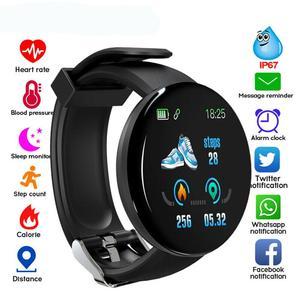 Share D18 BT4.0 водонепроницаемые Смарт-часы кровяное давление мониторинг сердечного ритма сна спортивный фитнес-трекер Браслет для iOS и Andr