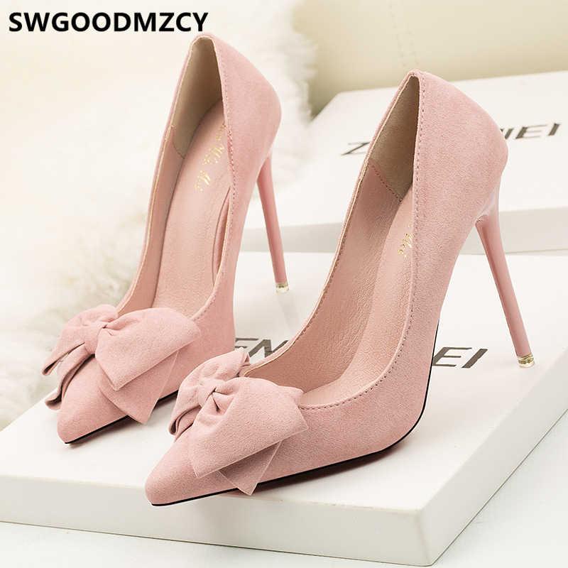 Di san valentino scarpe fetish tacchi alti pattini di vestito delle signore delle donne pompe estremo tacchi alti scarpe eleganti per la donna tacchi a spillo buty