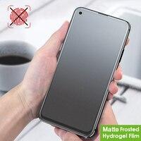 Película de hidrogel mate para Huawei, Protector de pantalla esmerilada, suave, sin huella dactilar, para Nova 3, 3i, 4, 4e, 5, 5i, 5T, 6, 7, 8 Pro, SE 7i